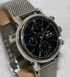 IWC Portofino Chronograph New Model Big 42mm - Men's Watch - 2010' year
