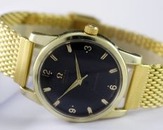 "Omega Seamaster ""Calendar"" Gold Top Men's Wrist Watch - Reference CK 2849-2 SC - Year 1955"