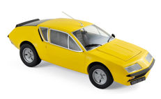 Norev - Scale 1/18 - Renault Alpine A310 1977 - Yellow