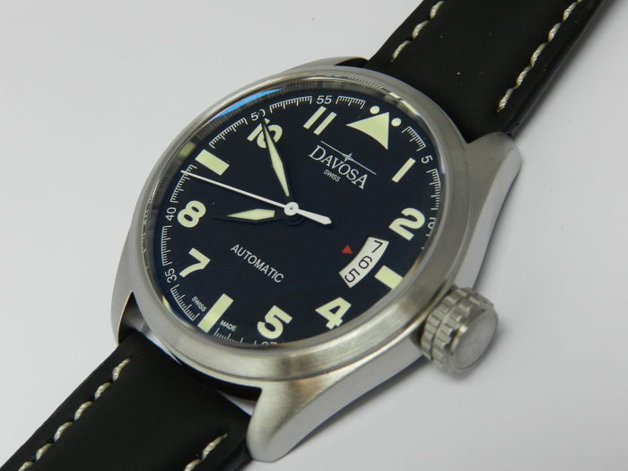 Davosa Men's automatic Military Swiss made mint condition