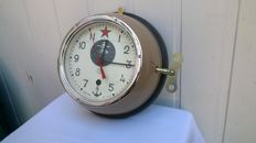 Original Russian Navy Submarine Clock № 5321 - Made in USSR - 1993