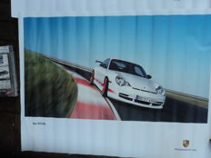 "1 box ""40 years 911"" Porsche with 3 posters"