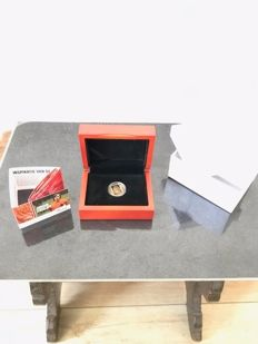 "Netherlands - 10 Euro 2017 ""Johan Cruijff"" - gold"