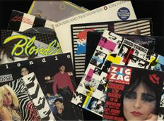 A great blend of New Wave: great lot of EIGHT Blondie and Siouxsie and the Banshees albums plus THREE ZIG ZAG alternative magazines!