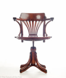 Thonet (attributed) - Wooden desk chair