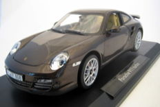 Norev - Scale 1/18 - Porsche 911 Turbo 2010 - Brown Metallic