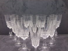 Crystal Glasses Set/Champagne Glasses
