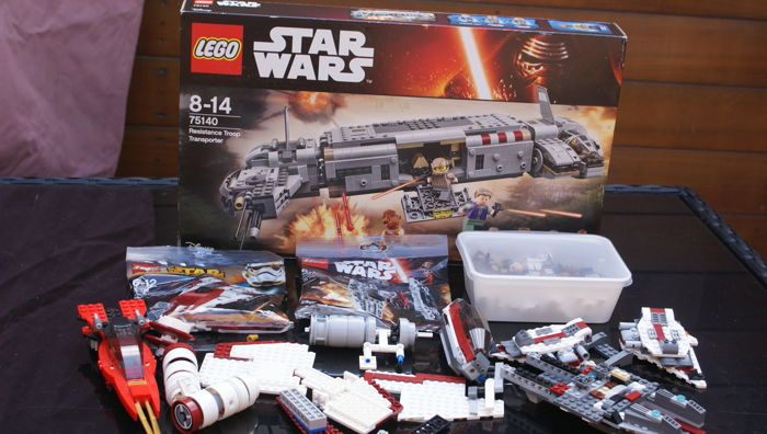 Star Wars - 75140, 30272, 30276 en 38 extra figuren