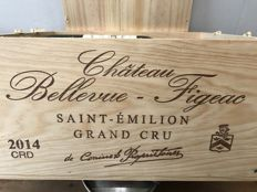 2014 Château Bellevue Figeac, Saint-Emilion Grand Cru - total 6 bottles (75cl) OHK
