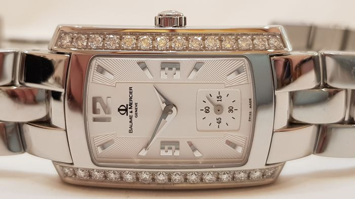 Baume & Mercier with diamonds. Hampton Milleis - women's