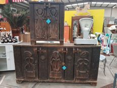 Borneo style cabinets - Indonesia - second half of 20th century