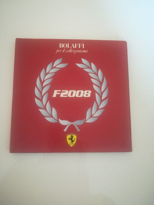 1 Ferrari  Dollar coin from the Cook Islands, 2008 in a very nice Ferrari Folder
