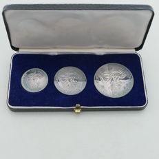 United States - silver commemorative coins '200 years of the USA from 1976' - silver