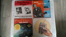 A very nice lot of 15 (including 3 doublealbums) rock 'n roll albums by: Roy Orbison, Carl Perkins, Chuck Berry, Fats Domino, Chubby Checker, Bill Haley, Ricky Nelson, the Everly Brothers and 3 compilation albums.