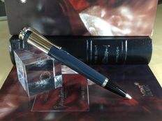 Montblanc Writers  Edition Tribute to Charles Dickens With Blue Ballpoint Pen New