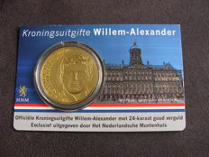 "The Netherlands - Medal ""Coronation issue Willem-Alexander 2010"" in coin card"