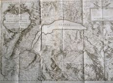 Switzerland, Geneva - Antoine Chopy / Fabri and Barrillot - Map of Lake Geneva (...) - 1730