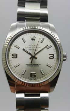 ROLEX Air King 114234, year: 2007