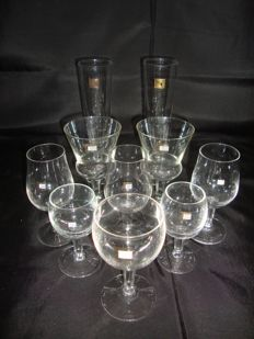 Casino Estoril Vintage 10 Glasses Collection