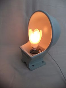 Industrial Lamp made from old cow drinking trough