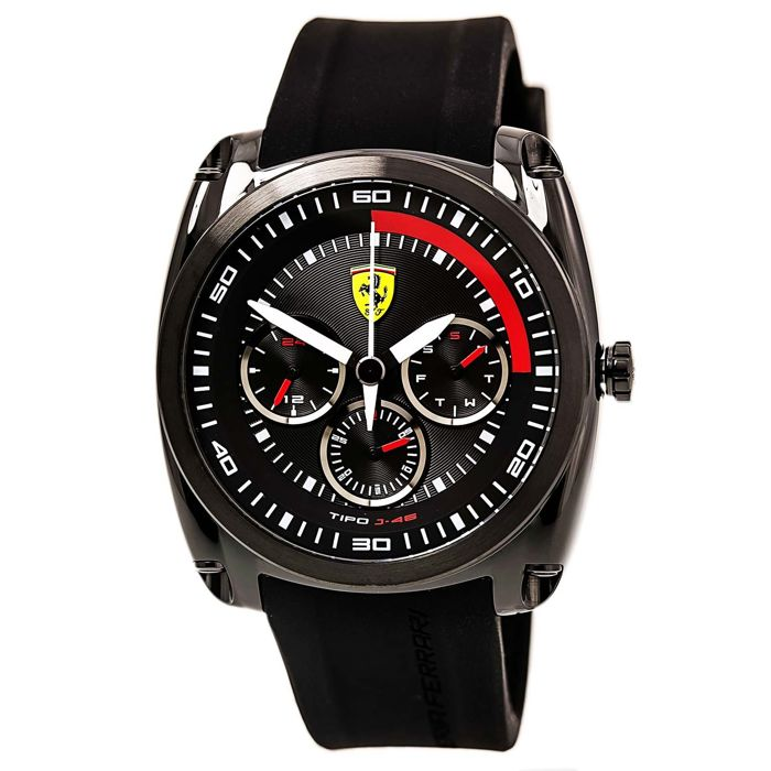Ferrari Analog Casual Watch Tipo J-46 Black