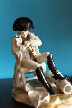 Porcelain sculpture Napoleon