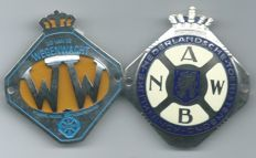 ANWB Enamelled & WW car Emblem