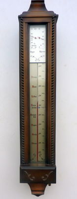 Barometer - special construction