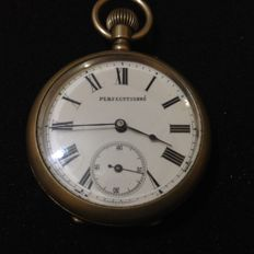 perfecttionne pocket watch for men circa 1920