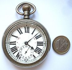 French pocket watch - 122 grams - circa 1890
