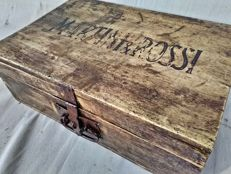 Antique Martini & Rossi chest - early 1900s