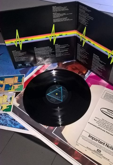 "Pink Floyd ""The Dark Side Of The Moon""-1973 The Gramophone Company Limited (Harvest)"