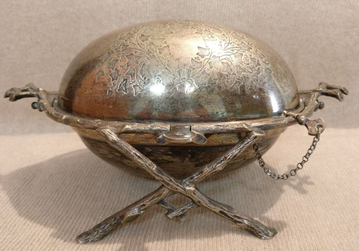 Silver plated Cheese Bowl - Italy - 1775-1799