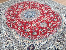 Persian NAIN - approx. 297 x 247cm - with certificate of authenticity - condition: VERY GOOD!