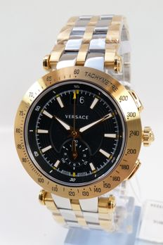 Versace Watch – V-Race Sport – Men's – Chrono – Swiss Made –
