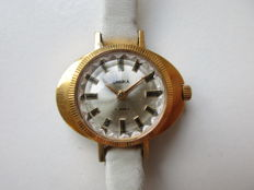 Chaika Russian – women's gold-plated wristwatch – 1950s