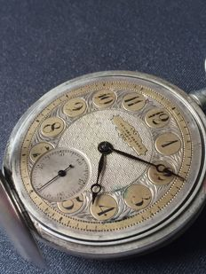 Audemars Freres - Pocket watch - 0.875 solid silver - men's - approx. 1870