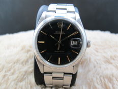 1978 ROLEX OYSTER DATE 6694 ORIGINAL BLACK DIAL WITH GOLD MARKERS