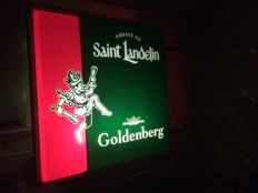 Neon sign Abbaye Saint Landelin