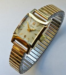 Laco Art-Deco 17Jewels -- women's wristwatch from the 1940s