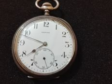 Zenith Grande prix silver pocket watch for men 1900