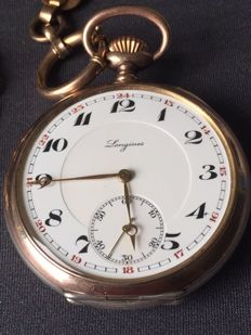 Longines pocket watch - approx. 1890-1900