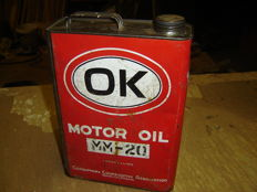 OK 5 litre oil can from Missouri America
