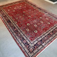 Phenomenal Isfahan oriental carpet made of kork wool - 285 x 190 - very good condition - great quality