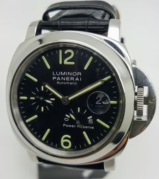 Officine Panerai - Panerai Luminor Power Reserve PAM00090 - OP6556BB - Unisexe - 2000-2010