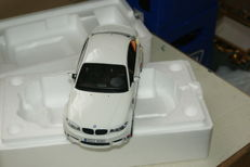 GT-Spirit - Scale 1/18 - BMW 1er M1 M Coupe 2011 E82 white weiss GT073 limited 1/1500