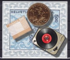 Switzerland – Stamps and blocks:
