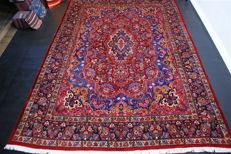 Persian carpet, Mashad, approx. 385 x 276 cm, Iran, recently cleaned