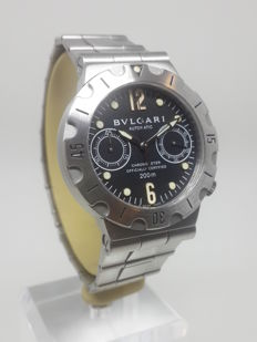 Bulgari Diagono Scuba Chronograph - SC38S - Mens Wristwatch