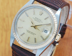 Rolex 1601 Oyster Perpetual Gold & SS DateJust Automatic Watch!
